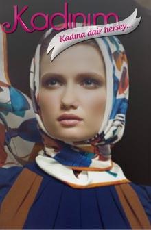 Aker Eşarp Modelleri
