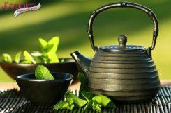 Göğüsler için Yeşil Çay