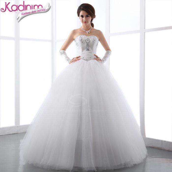 En Şık Prenses Gelinlik Modelleri 2014
