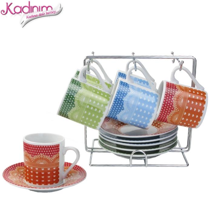 Renkl Kahve Fincanları