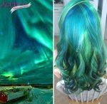 2016 Saç Trendi Galaksi Renkleri (2)