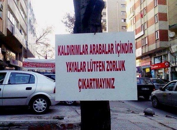Ankara'da sıradan bir gün