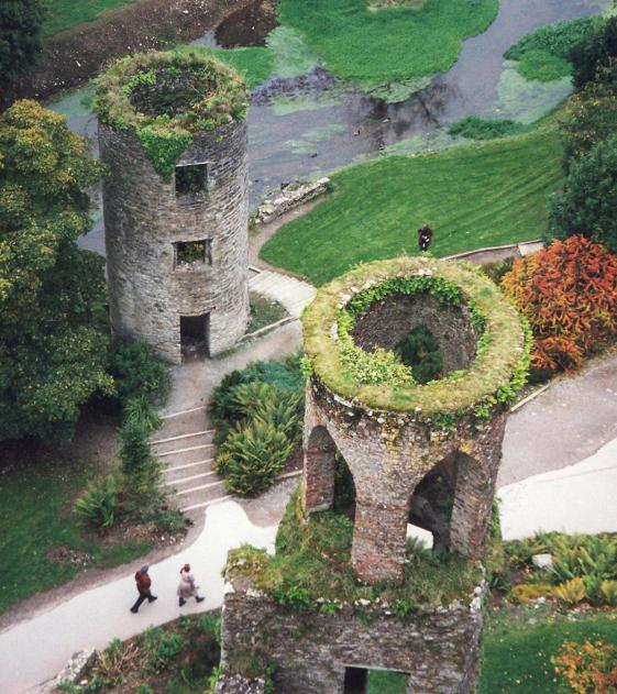 Two-Towers-at-Blarney-Castle-Cork-Ireland