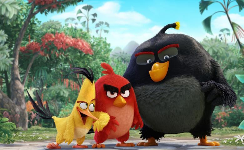12. The Angry Birds Movie